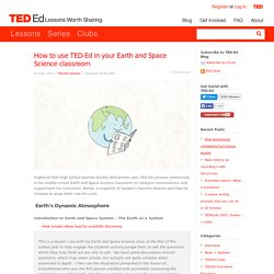 How to use TED-Ed in your Earth and Space Science classroom