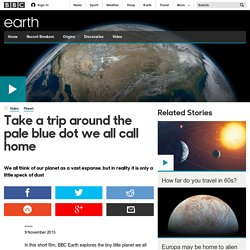 Earth - Take a trip around the pale blue dot we all call home