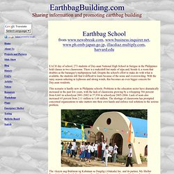 Earthbag School