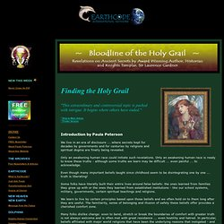 Earthcode: Bloodline of the Holy Grail ~ Forbidden truth revealed through Historical Evidence & Ancient Texts