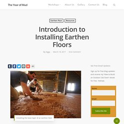 Earthen Floors: A Quick Introduction