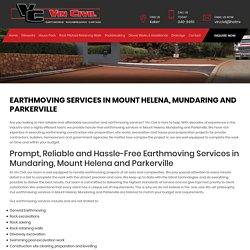 Earthmoving Services in Mount Helena, Mundaring and Parkerville - Vin Civil
