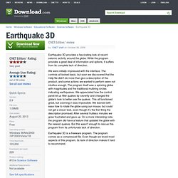Earthquake 3D