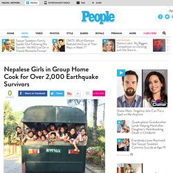 Nepal Earthquake: Unatti Foundation Girls Cook for Survivors in Kathmandu