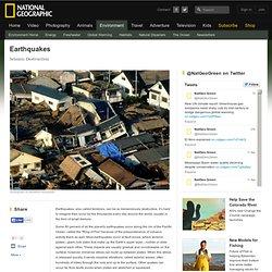 Earthquake Facts, Earthquake Information, Earthquake Videos, Earthquake Photos