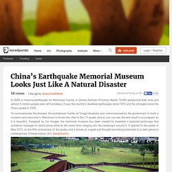 China's Earthquake Memorial Museum Looks Just Like A Natural Disaster