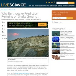 Why Earthquake Prediction Remains on Shaky Ground