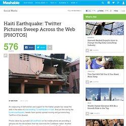 Haiti quake TwitterPict ures