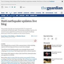 live blog Guardian