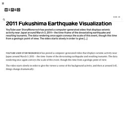 2011 Fukushima Earthquake Visualization