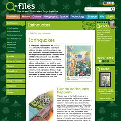 Earthquakes - Q-files Encyclopedia