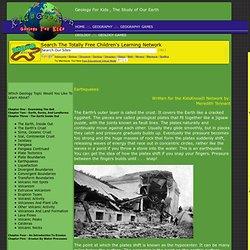 Earthquakes - Geology For Kids - By KidsGeo.com