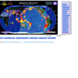 Seismic Monitor - Recent Earthquakes