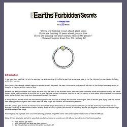 Earths Forbidden Secrets