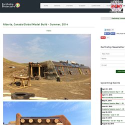 Alberta Earthship Build Overview