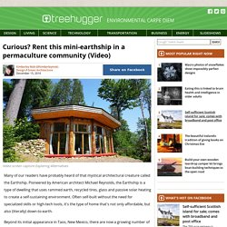 Curious? Rent this mini-earthship in a permaculture community (Video)
