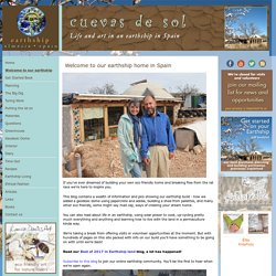 Earthships in Spain - Welcome to our earthship home in Spain