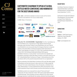 EarthWater Nominated for the Best Brand Award - CJ COMU