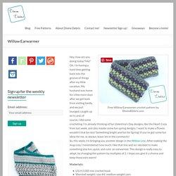 Free Willow Earwarmer crochet pattern