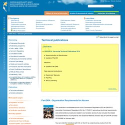 EASA - Technical publications