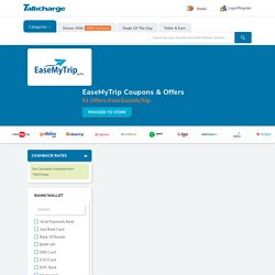 EaseMyTrip Coupons & Offers: ₹5000 off on Hotel & Flight - Nov 2020