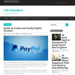 Easiest Guide to Create and Verify Your PayPal Account