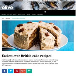 Easiest ever cake recipes - olive