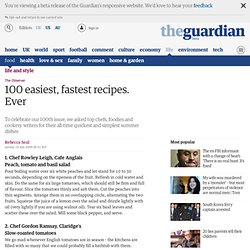 The 100 easiest, fastest recipes. Ever | Life and style | The Ob