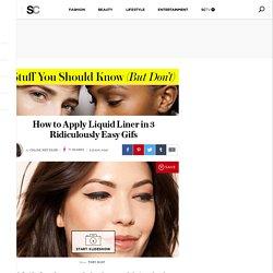 How to Easily Apply Liquid Eyeliner in 3 Steps