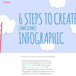 Easily create awesome infographics online - for free!