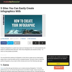 5 Sites You Can Easily Create Infographics With