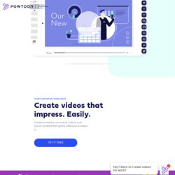 Easily Create Videos for Work
