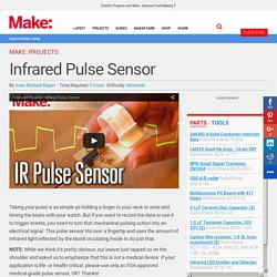 Easily Take a Pulse with a Infrared Pulse Sensor