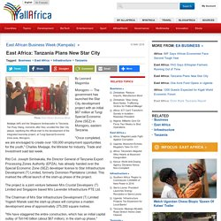 East Africa: Tanzania Plans New Star City