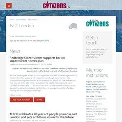 East London - Citizens UK