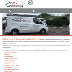 Roofing Eastbourne