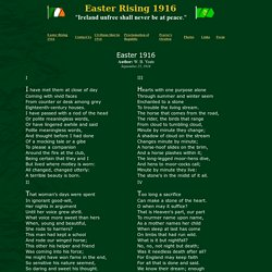 Easter 1916 Poem by W. B. Yeats