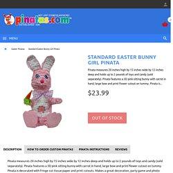 Easter Bunny Girl Pinata