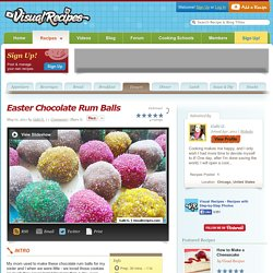 Easter Chocolate Rum Balls Recipe
