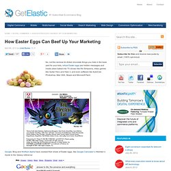 How Easter Eggs Can Beef Up Your Marketing