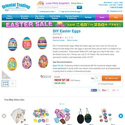 Design Your Own! Easter Eggs
