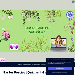 Easter Festival Quiz and Games