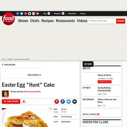 "Easter Egg ""Hunt"" Cake Recipe"