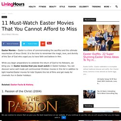 Easter Movies That You Cannot Afford to Miss
