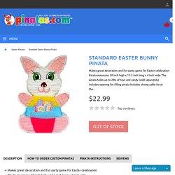 Custom Easter Bunny Pinata