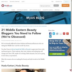 21 Middle Eastern Beauty Bloggers to Follow Now (We're Obsessed)