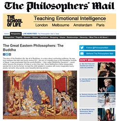 The Great Eastern Philosophers: The Buddha