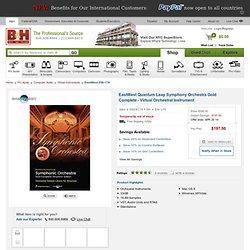 EastWest Quantum Leap Symphony Orchestra Gold Complete - EW-179