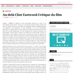 Au-delà-Clint Eastwood-Critique du film