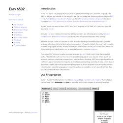 Easy 6502 by skilldrick